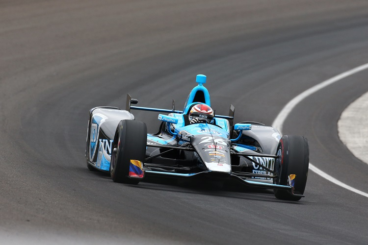 Carlos Munoz - Credit: Bret Kelley / IndyCar