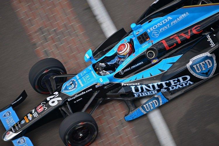 Carlos Munoz - Credit: Walter Kuhn / IndyCar