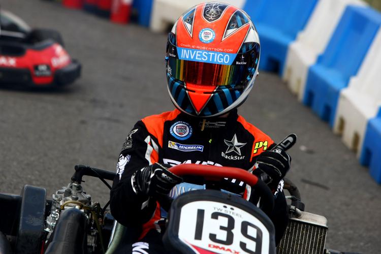 Charlie Roberton - Credit: HSF Brooklands Team Karting Challenge