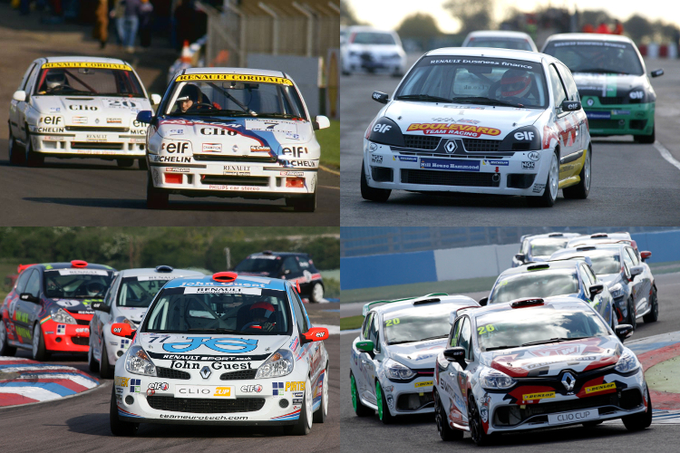 Clio Cup Four Generations