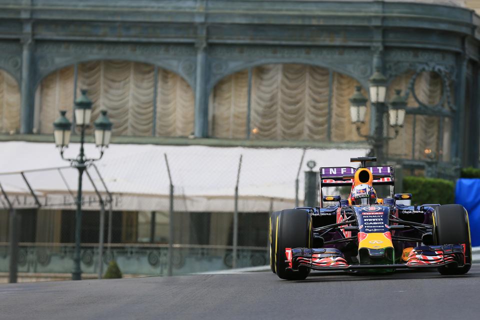 Daniel Ricciardo in action in 2015 - Credit: Octane Photographic