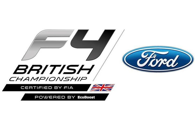 Ford F4 British Championship Logo Edit