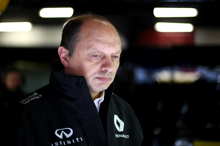 "Fred Vasseur Renault ""still have plenty of work to do"