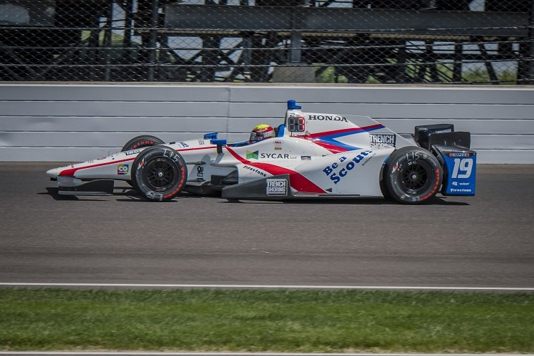 Gabby Chaves - Credit: Forrest Mellott / IndyCar