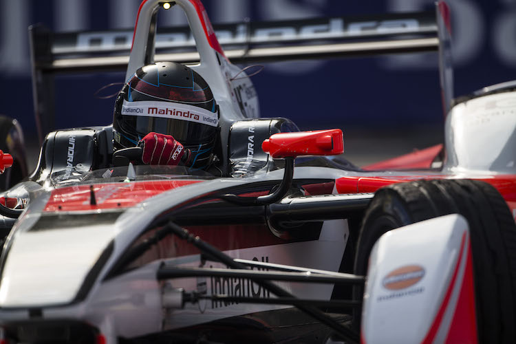 2015/2016 FIA Formula E Championship. Berlin ePrix, Berlin, Germany. Saturday 21 May 2016. Nick Heidfeld (GER), Mahindra Racing M2ELECTRO  Photo: Andrew Ferraro/LAT/Formula E ref: Digital Image _14P3879