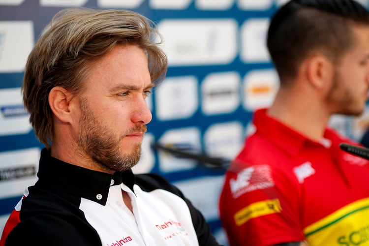 Drivers Press Conference.  Berlin e-Prix, Alexanderplatz, Germany, Europe. Friday 20 May 2016 Photo: Adam Warner / LAT / FE ref: Digital Image _L5R9115