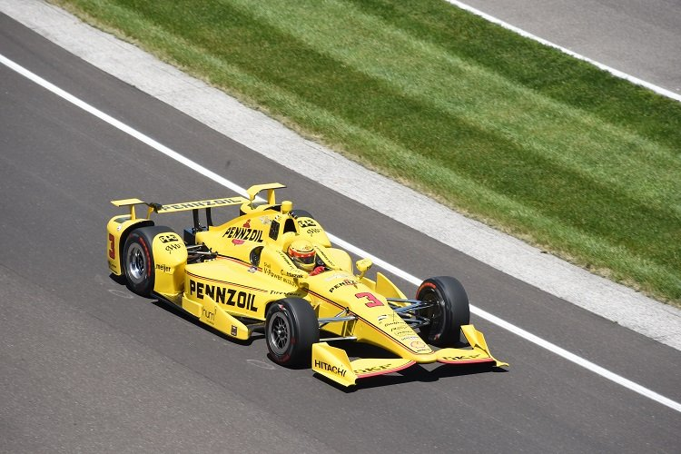 Helio Castroneves - Credit: Jim Haines / IndyCar
