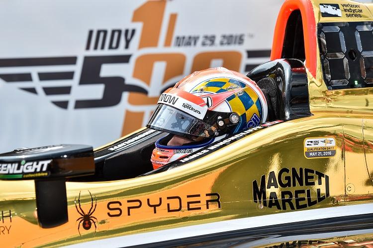James Hinchcliffe - Credit: Chris Owens / IndyCar