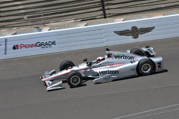 Juan Pablo Montoya - Credit: Eric McCombs / IndyCar