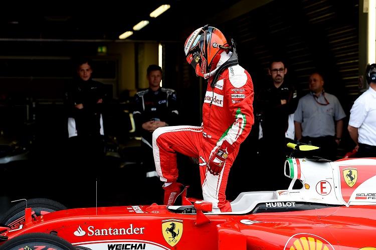 Kimi Raikkonen I Think Car Will Goodon Mercedes Formula 1 Car 2016