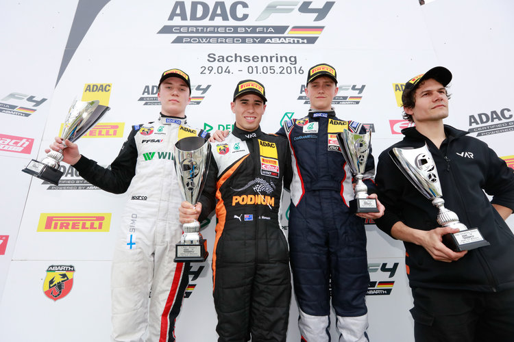 Motorsports / ADAC Formel 4, 2. Event 2016, Sachsenring, GER
