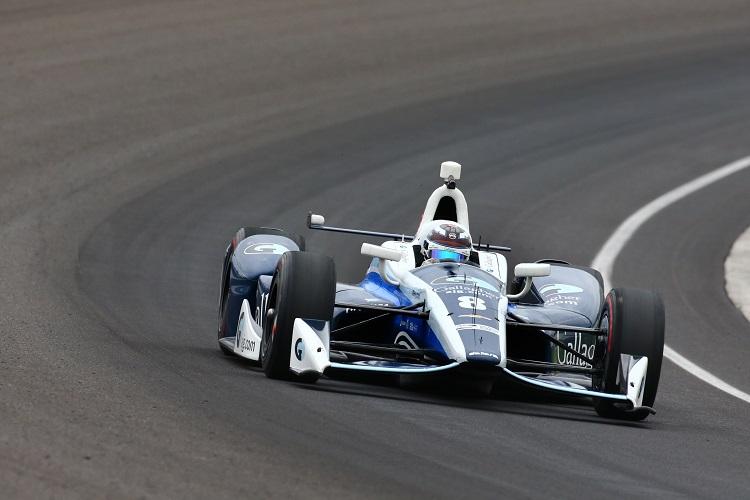 Max Chilton - Credit: Bret Kelley / IndyCar