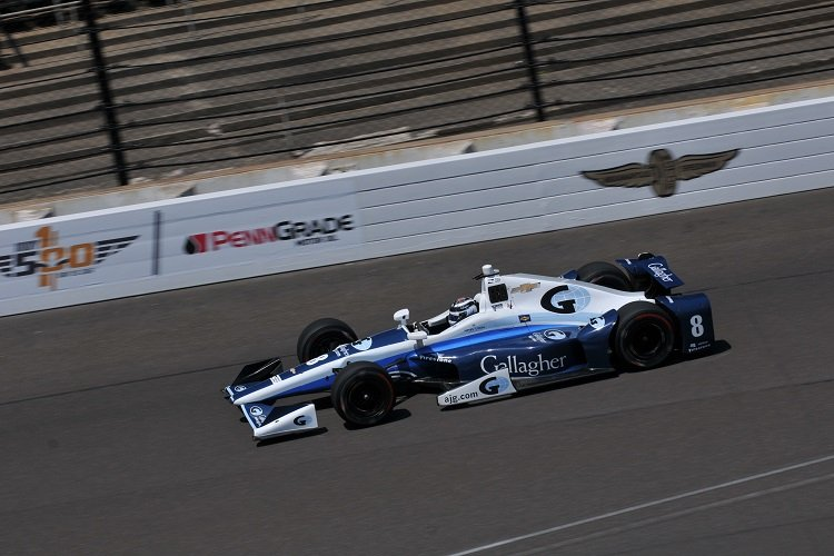 Max Chilton: Credit: Eric McCombs / IndyCar
