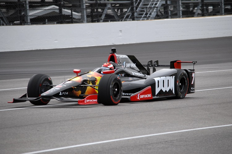 Mikhail Aleshin - Credit: Mike Young / IndyCar