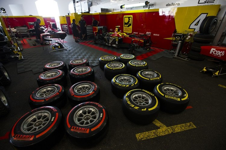 Pirelli - Credit: Sam Bloxham/GP2 Series Media Service
