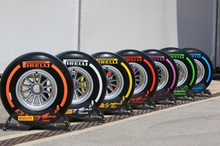 Pirelli Show Off Wider 2017 Tyres For First Time Formula