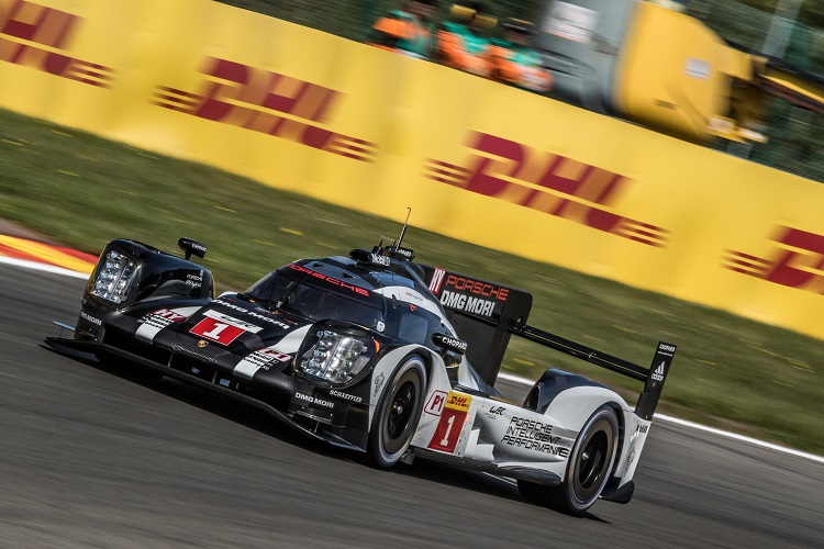 Car # 1 / PORSCHE TEAM / DEU / Porsche 919 Hybrid / Timo Bernhard (DEU) / Mark Webber (AUS) / Brendon Hartley (NZL) - WEC 6 Hours of Spa - Circuit de Spa-Francorchamps - Spa - Belgium