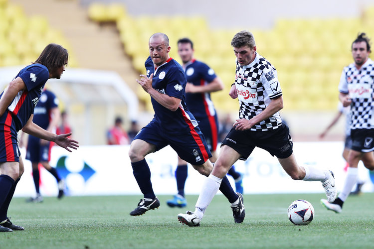 Checkered Flag VW >> Formula 1 drivers beat All Stars in Monaco charity football match - The Checkered Flag