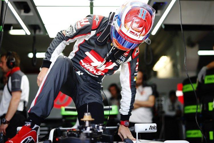 Romain Grosjean - Credit: Andy Hone/LAT Photographic