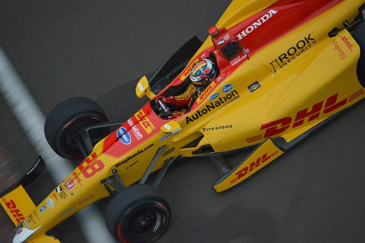 Ryan Hunter-Reay - Credit: Walter Kuhn / IndyCar