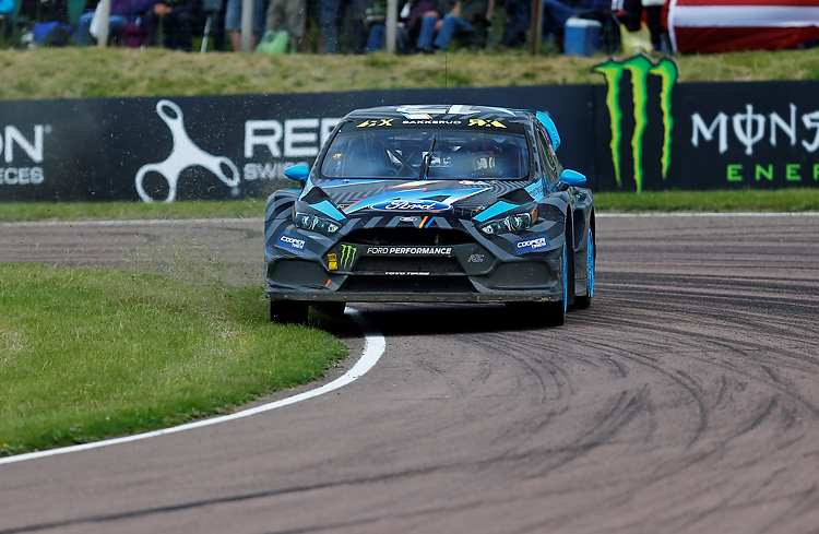 Bakkerud looked strong all weekend but was let down in the final with mechanical issues - Credit: RubberDuckDoes.com / Matt Bristow