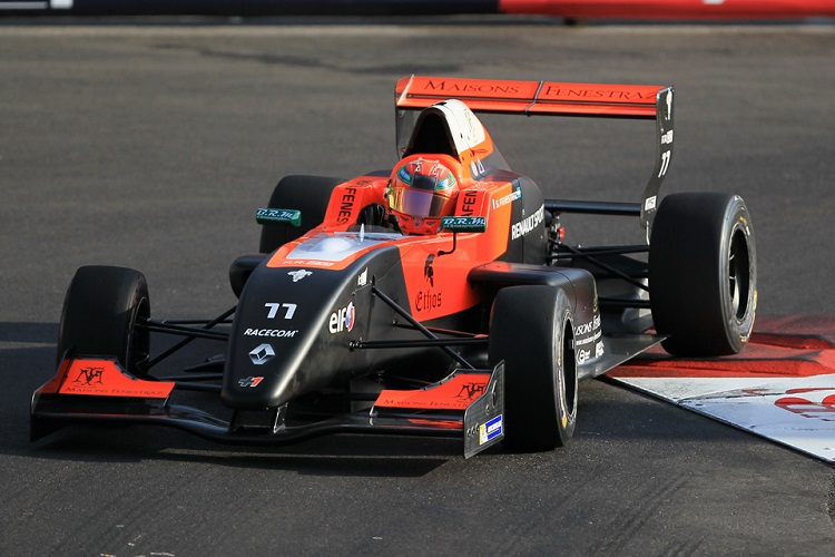 Sacha Fenestraz has inherited pole position in Monaco - Credit: Octane Photographic Ltd