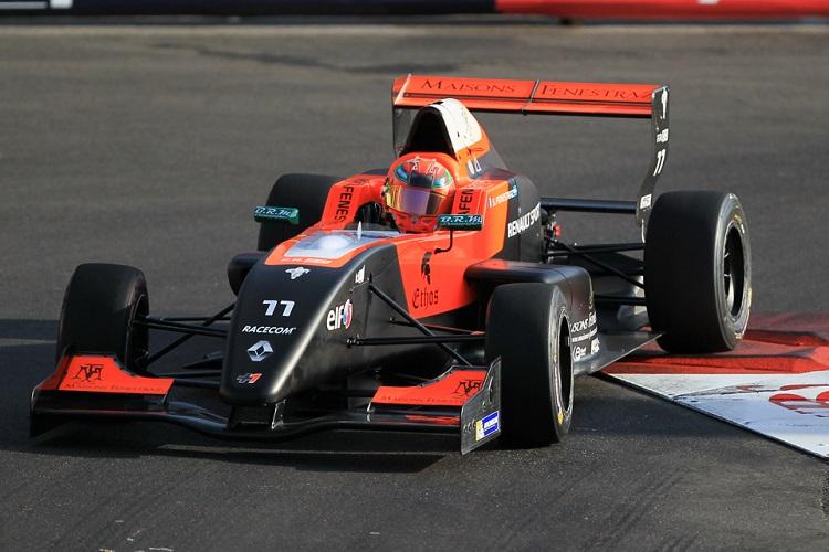 Sacha Fenestraz has inherited pole position in Monaco - Credit: Octane Photographic Ltd