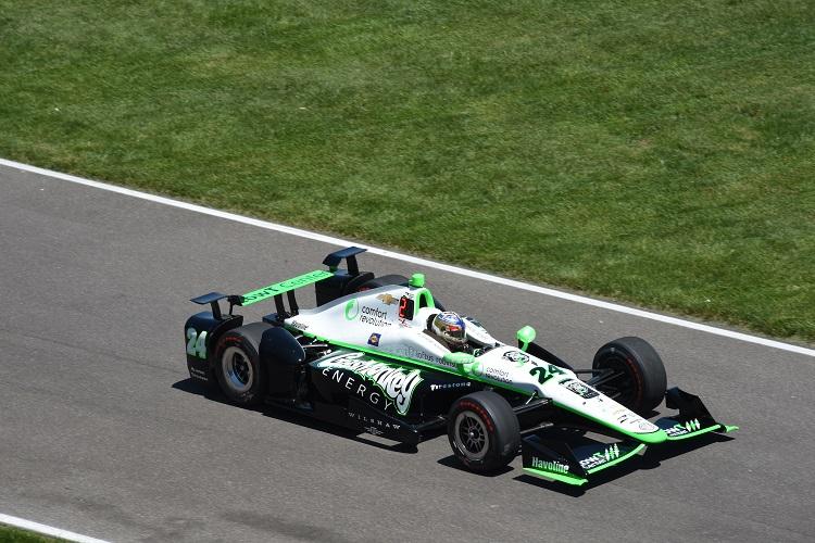 Sage Karam - Credit: Jim Haines / IndyCar