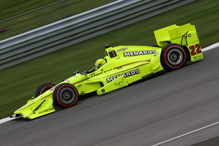 """Simon Pagenaud: """"The car was fantastic once again"""" - Indycar - The Checkered Flag"""