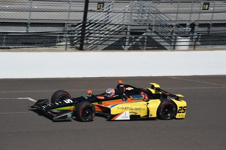 Stefan Wilson - Credit: Jim Haines / IndyCar
