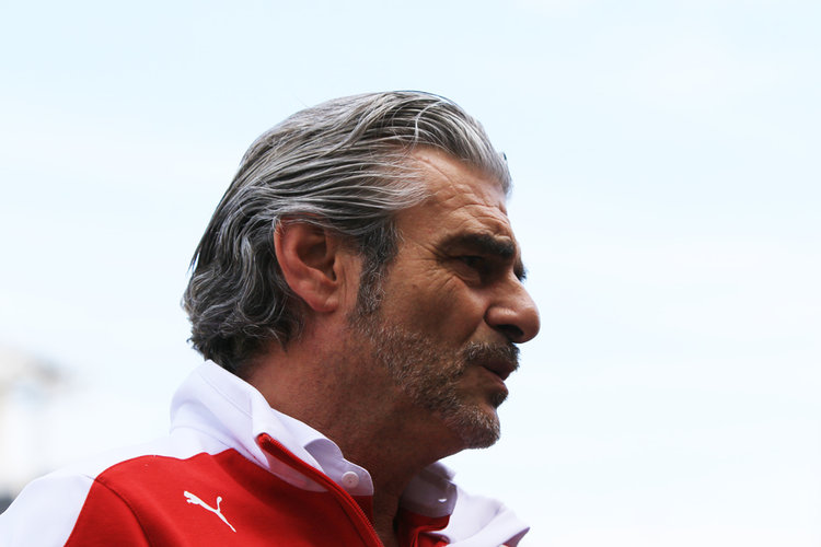 World © Octane Photographic Ltd. Scuderia Ferrari - Maurizio Arrivabene. Thursday 26th May 2016, F1 Monaco GP Practice 1, Monaco, Monte Carlo - Credit: Octane Photographic Ltd