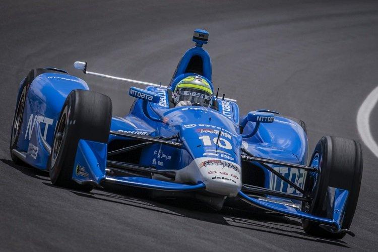 Tony Kanaan - Credit: Forrest Mellott / IndyCar