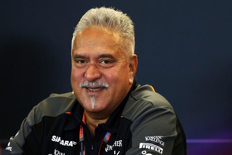 Dr. Vijay Mallya (IND) Sahara Force India F1 Team Owner in the FIA Press Conference. United States Grand Prix, Friday 23rd October 2015. Circuit of the Americas, Austin, Texas, USA.