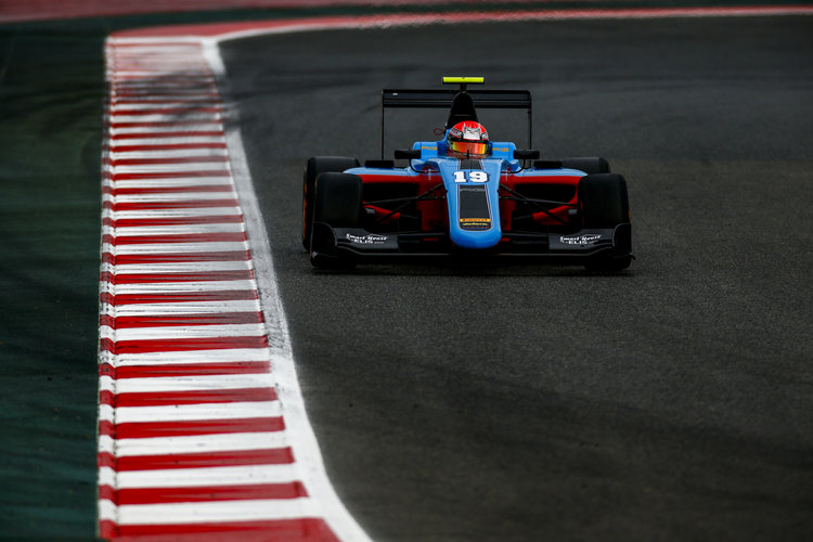 2016 GP3 Series Round 1.  Circuit de Catalunya, Barcelona, Spain. Friday 13 May 2016. Richard Gonda (SVK, Jenzer Motorsport). Photo: Zak Mauger/GP3 Series Media Service. ref: Digital Image _L0U7842