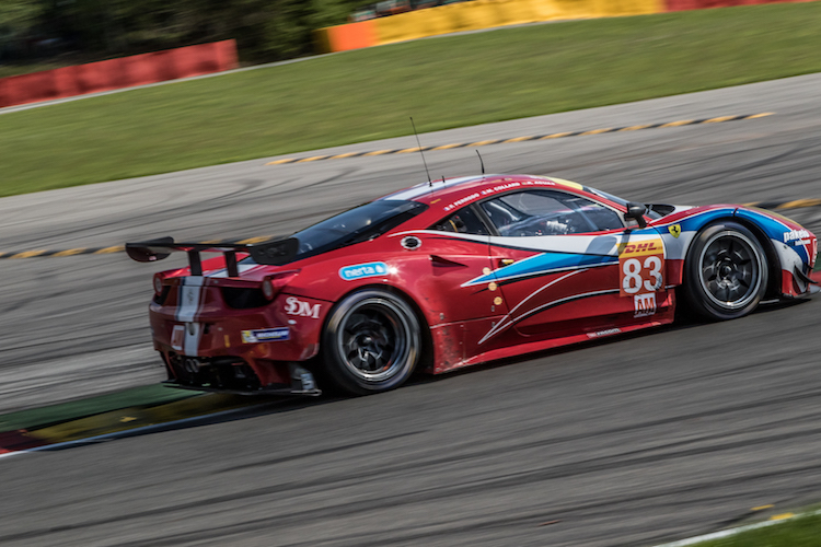The GTE-Am AF Corse machines have strong line-ups (Credit: Adrenal Media)