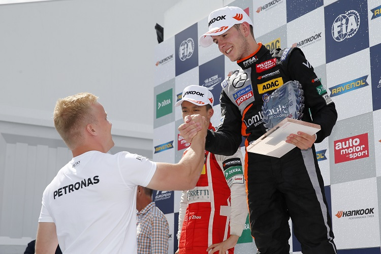 Anthoine Hubert - Credit: FIA Formula 3 European Championship