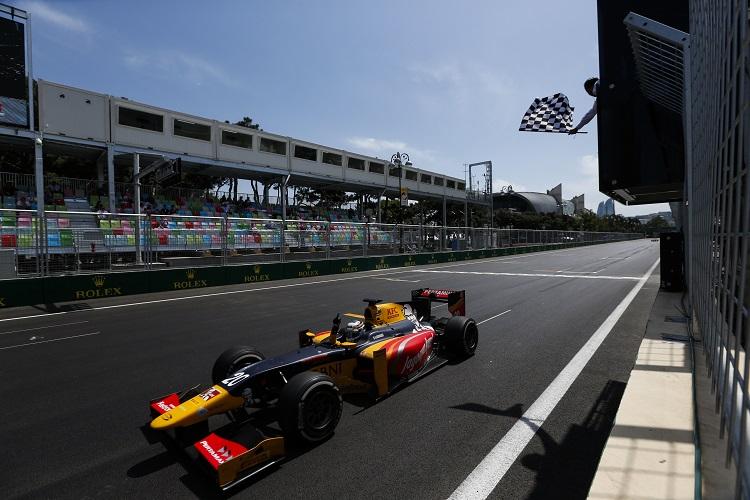 Antonio Giovinazzi - Credit: Sam Bloxham/GP2 Series Media Service