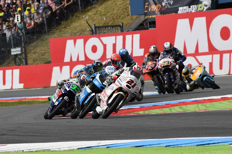 Francesco Bagnaia (no.21) - Photo Credit: Aspar Team