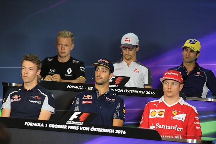 Austria Press Conference - Credit: Octane Photographic Ltd