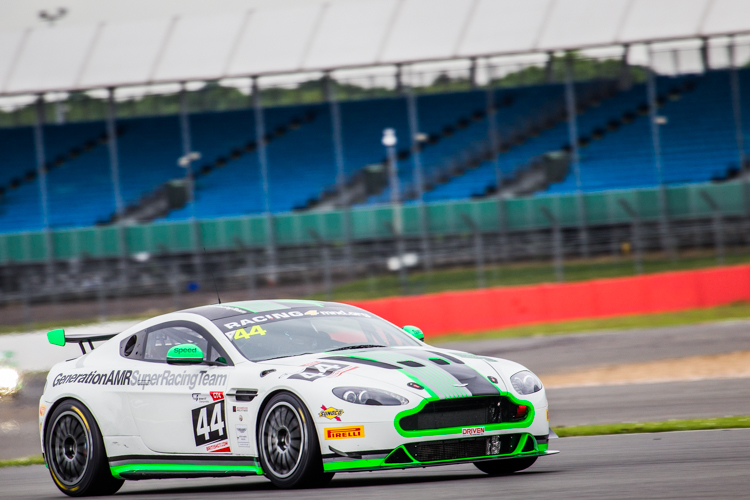 Matthew George kept up the Generation AMR pace with top spot in GT4 (Credit: Nick Smith/TheImageTeam.com)
