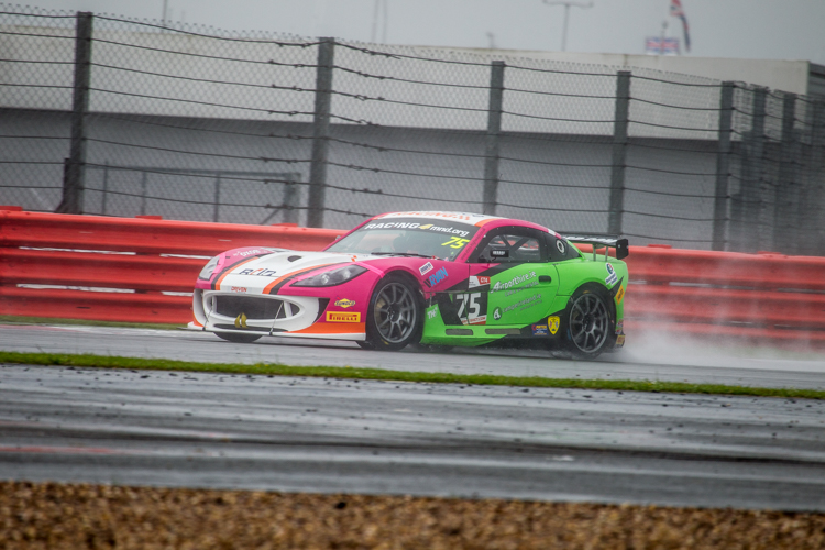 Robert Barrable stayed cool and collected for his first British GT victory (Credit: Nick Smith/TheImageTeam.com)
