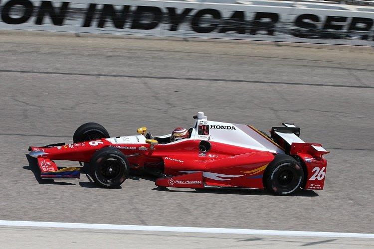 Carlos Munoz - Credit: Chris Jones / IndyCar