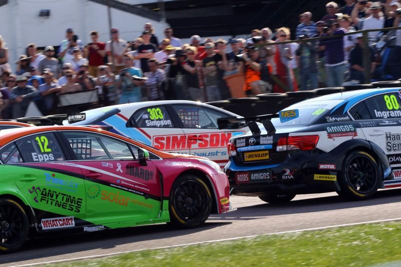 Epps (12) impressed at Thruxton (Photo: BTCC Media)