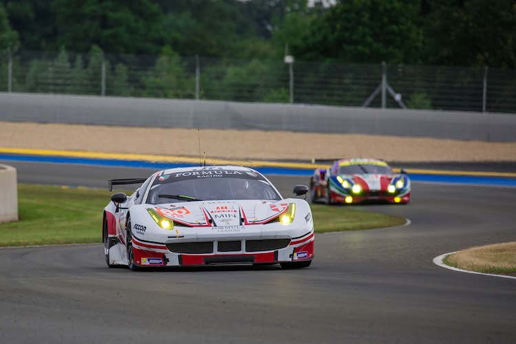 Formula Racing are defending ELMS GTE champions and have a strong line-up (Credit: Craig Robertson/SpeedChills.com)