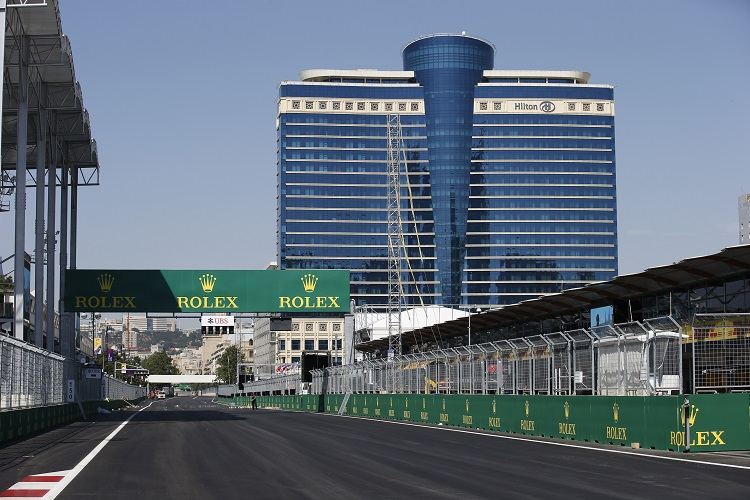 GP2 in Azerbaijan - Credit: Sam Bloxham/GP2 Series Media Service