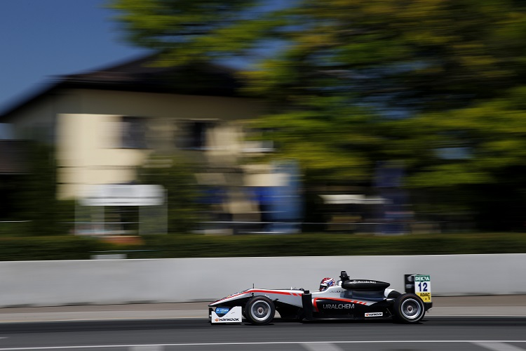 George Russell - Credit: FIA Formula 3 European Championship