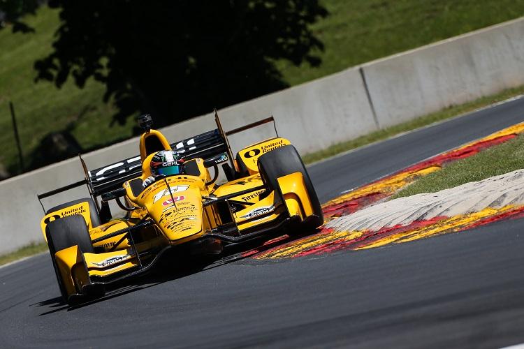 Graham Rahal - Credit: Joe Skibinski / IndyCar