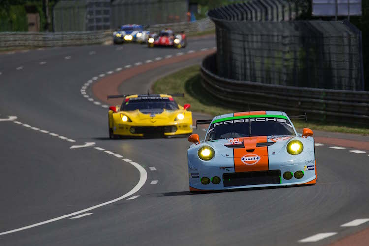 Gulf Racing are one of the lead Porsche teams in GTE Am (Credit: Craig Robertson/SpeedChills.com)