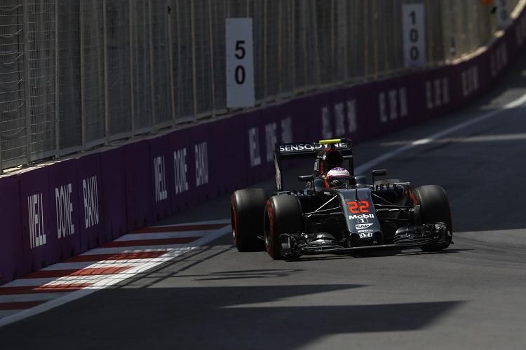 Jenson Button - Credit: McLaren Media Centre