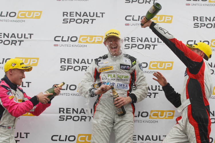 Coates Hopes There Is More Top Step Podium Celebrations To Come - Credit: Jakob Ebrey Photography